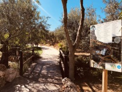 Entrada a Guadalhorce Arboretum
