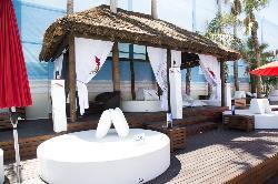 La piscina para eventos en Occo Ocean Sevilla