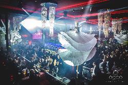 Montaje fiestas sorprendentes en Occo Ocean Sevilla