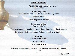 Aperitivos, Coffee y Buffet