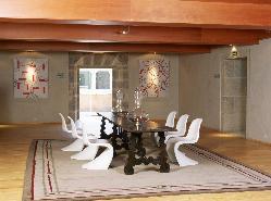 Interior 7 en Parador de Santo Estevo