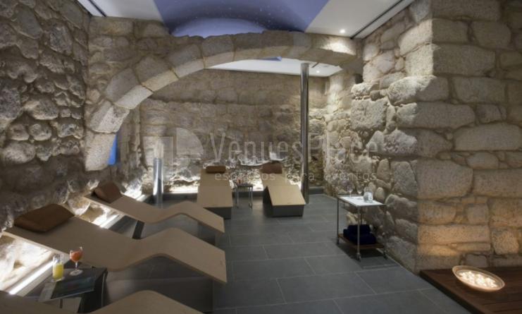 Interior 2 en Parador de Santo Estevo