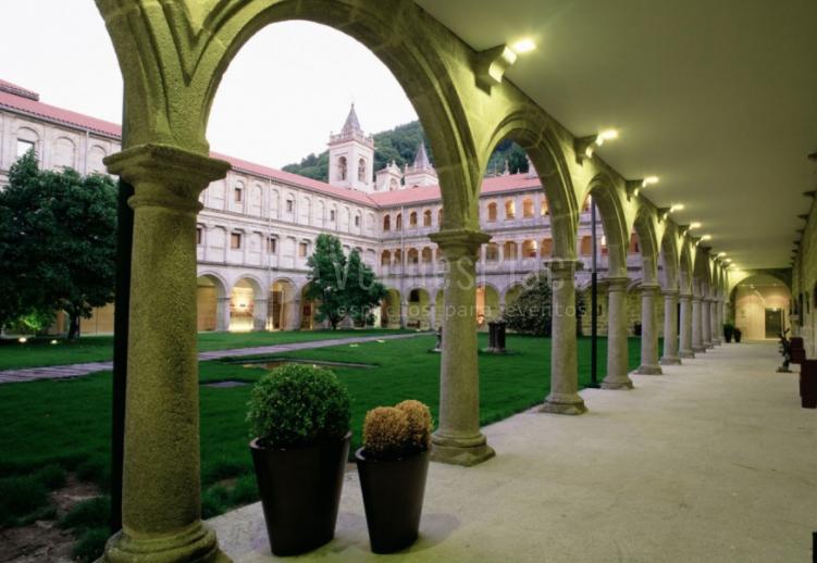 Exterior 2 en Parador de Monasterio de Santo Estevo