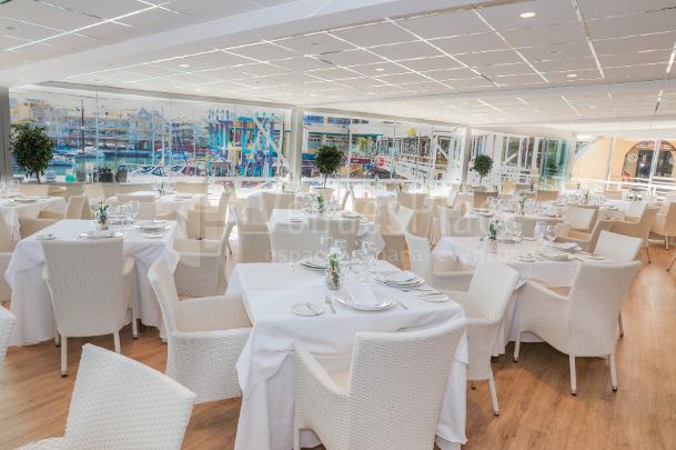 Restaurantes para grupos para eventos en benalm dena - Los mellizos puerto marina ...