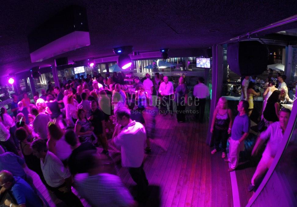 Montaje 5 en Kaleido Málaga Port fiestas privadas
