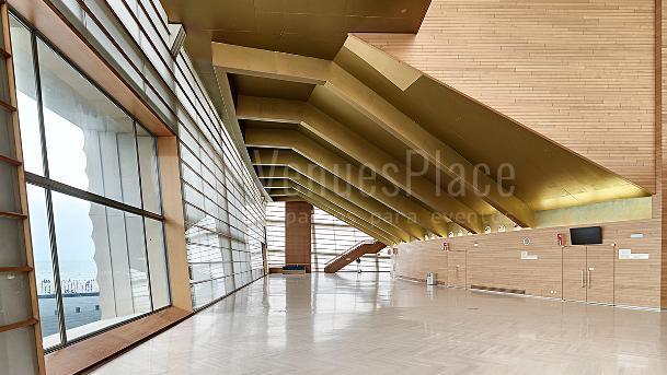 Espacio efímero y con luz natural para que tu evento salga perfecto en Palacio de Congresos Kursaal