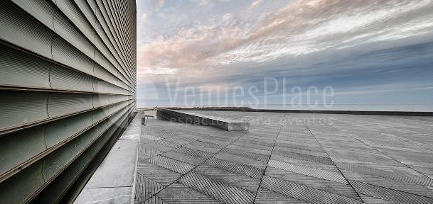 Grandes terrazas a tu disposición en el Palacio de Congresos Kursaal