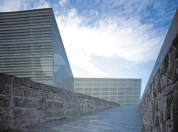 Fachadas esteriores del Palacio de Congresos Kursaal