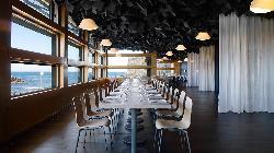 Restaurante con vistas al mar en Palacio de Congresos Kursaal
