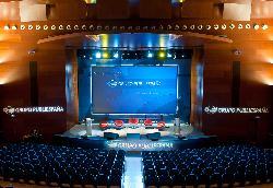 Montaje para presentación y charlas en Palacio de Congresos Kursaal