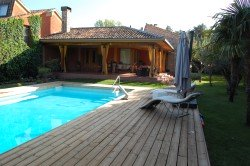 Casa para rodajes con piscina Guadalajara