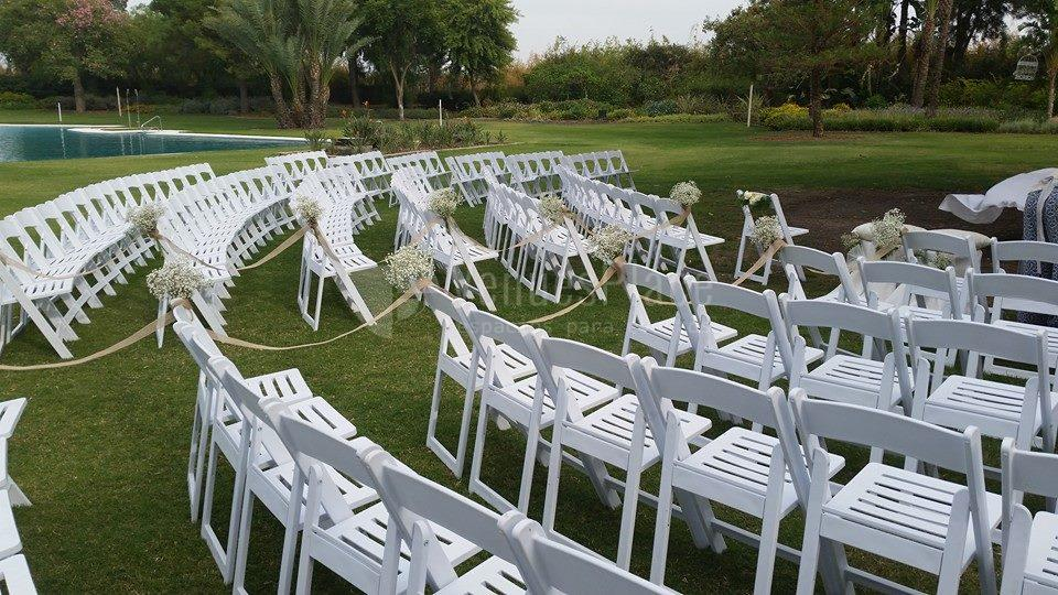 Boda civil al aire libre en Real Club de Sevilla Golf (Catering ACS)