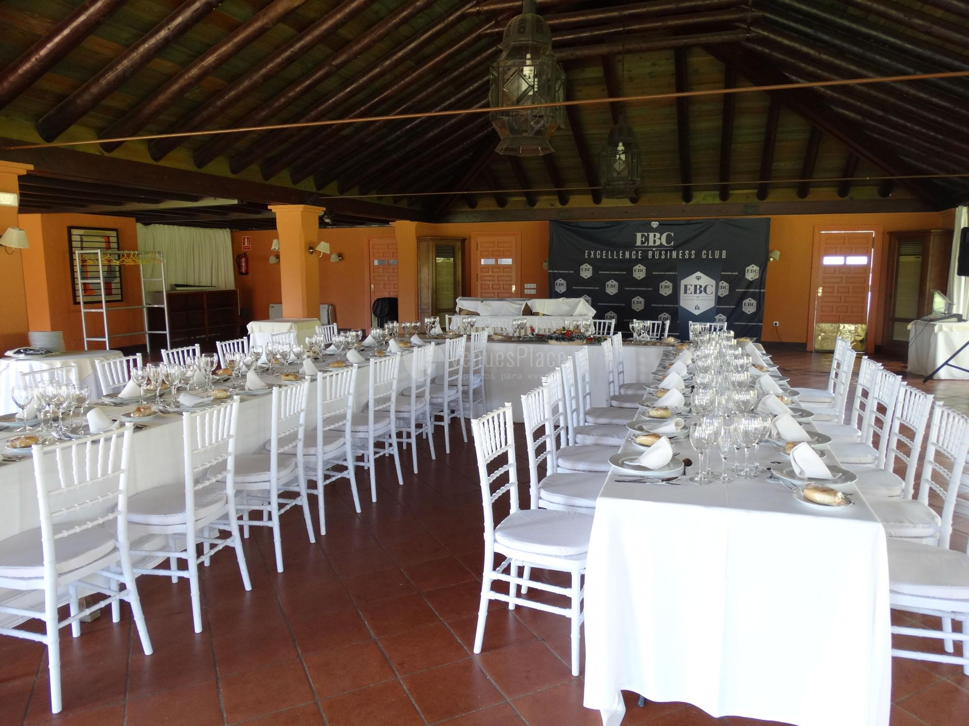 Montaje 11 en Real Club de Sevilla Golf (Catering ACS)