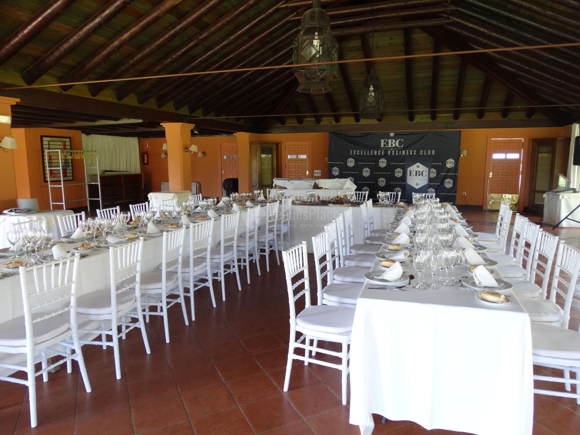 Montaje 11 en Real Club de Sevilla Golf (Catering ACS)