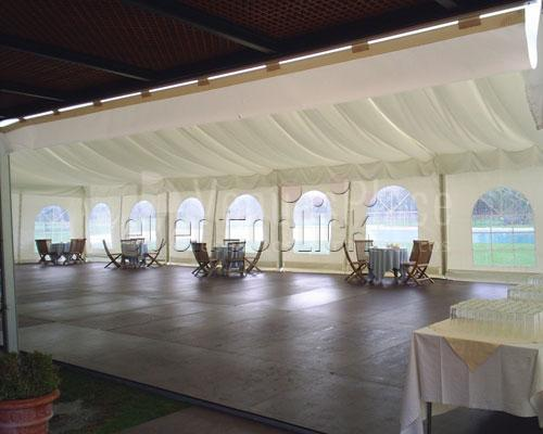 Carpa para eventos de empresa y celebraciones privadas en Real Club de Sevilla Golf (Catering ACS)