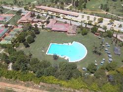 Vista general de nuestras instalaciones en Real Club Sevilla Golf