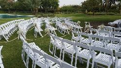 Boda civil al aire libre en Real Club Sevilla Golf