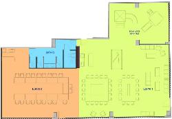 Plano espacio El eventos de Sant Cugat