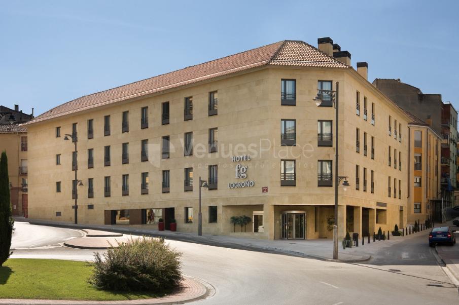 Exterior 1 en Hotel F&G Logroño