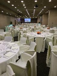 Salas planta -1 montadas en banquete