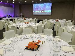 Banquete con barra libre en sala SOL
