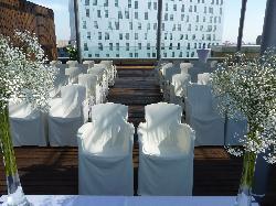 Ceremonia Civil en terraza 10ª de día
