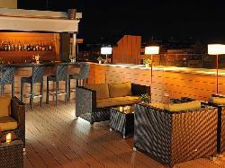 Terraza en Sercotel Ámister Art Hotel