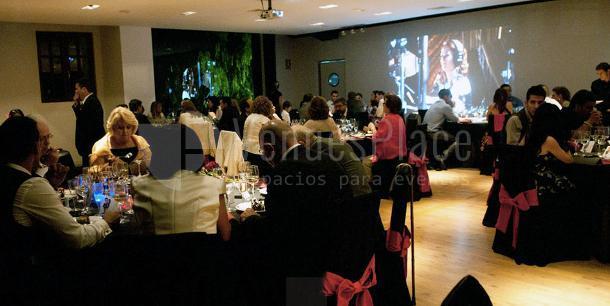 Audiovisuales disponibles para tu evento de empresa en la Mas?a Mas LLombart