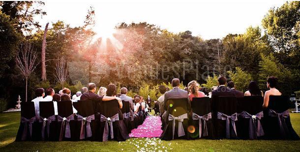 Celebra tu boda civil al aire libre en la Mas?a Mas LLombart