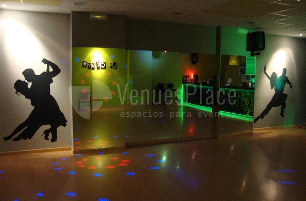 Interior Sala de Fiesta La Clave