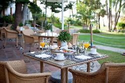 Desayunos en el Hotel los Monteros