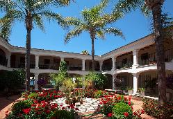 Patio para eventos en  Hotel los Monteros
