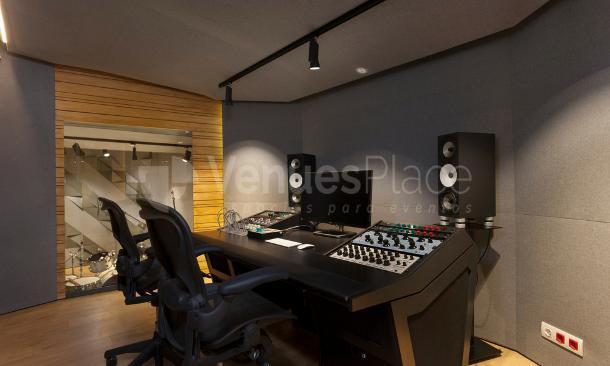 Estudio de grabación en Artspace Barcelona
