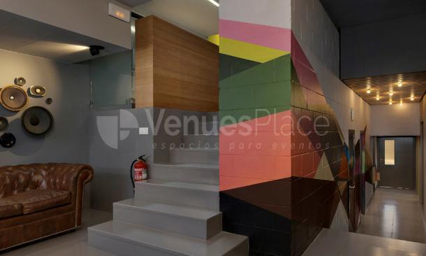 Espacio común en Artspace Barcelona