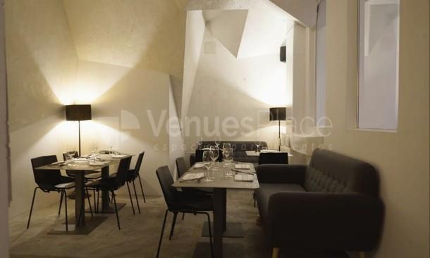 Interior pecera Restaurante Krápula