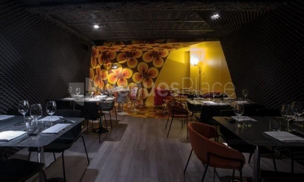Interior salón Restaurante Krápula