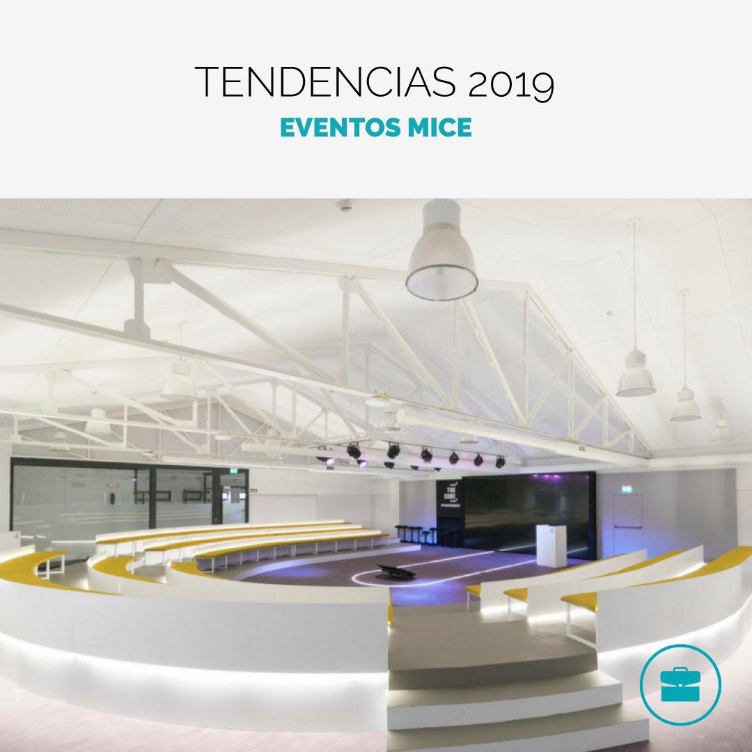 Tendencias MICE 2019