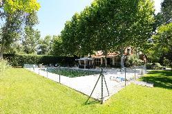 Jardín Piscina en Complejo Nivaria