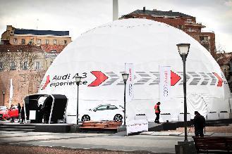 Multiespacio: U-Dome en el Circuito del Jarama
