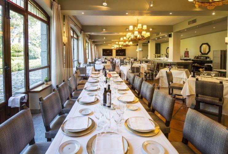 Montajes para comidas y cenas de empresa en Parador de Ávila