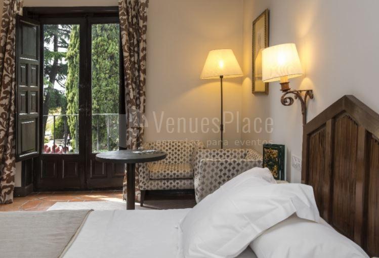 Habitaciones con preciosas vistas en Parador de Ávila