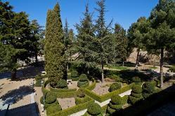 Jardines en Parador de Ávila