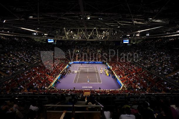 Interior del  Pabellón Multiusos I - Madrid Arena eventos deportivos