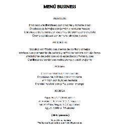 Menús Business