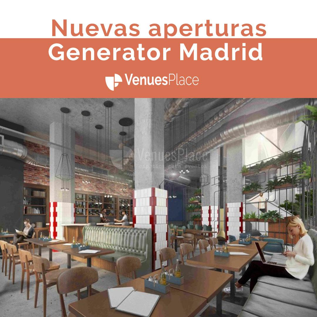 Generator Madrid apertura