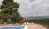 Vistas de la piscina en Finca San Agustín