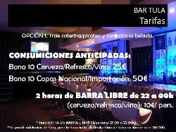 Bar Tula tarifas