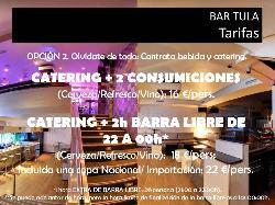 Olvídate de todo Bar Tula catering y Barra libre