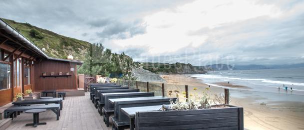 Terraza perfecta para tus eventos de verano en El Peñón de Sopelana