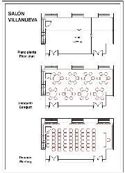 Plano Salón Villanueva
